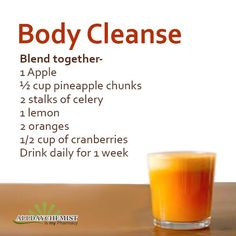 A simple home-made #remedy of 'Body Cleanse Juice' that helps remove all the harmful toxins from your body, for a #healthy YOU!