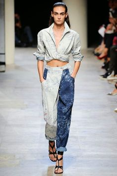 Carlos *Smee* Schimidt Blog sobre laser para jeans (About laser for jeans): Leonard Paris Spring 2015 RTW Paris #laser#lasermachine