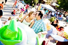 disney engagement photos. These might be the cutest engagement pictures I've ever seen!