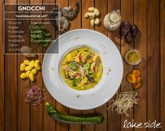 Okzident meets Orient - gnocchi with great taste. Gnocchi, Zucchini, Curry, Ethnic Recipes, People, Food, Culture, Urban, Handmade