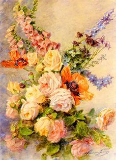 Grand Bouquet  Madeleine Jeanne Lemaire -