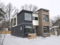 container house Private Residence Container Home Cargo Container Homes, Shipping Container Home Designs, Storage Container Homes, Building A Container Home, Container Buildings, Container Architecture, Shipping Containers, Sustainable Architecture, Container Cabin