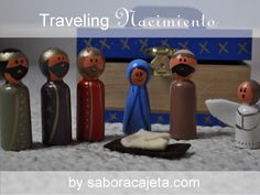 Mommy Maestra: Holiday Crafting: Traveling Miniature Nacimiento {TUTORIAL}