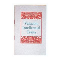 essay on intellectualism