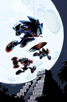 Sonic the Hedgehog 237 Cover by: Herms85 on deviantART