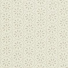 Beställ Daisy Spots vit/neutral/beige/grå tapet från Sanderson®