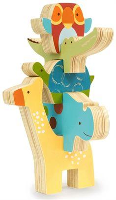 Köp Skip Hop, Stapel Klossar, Giraff Safari - från Lekmer.se
