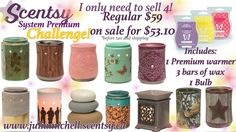 easy scentsy 10% February challenge www.juliamichell.scentsy.ca