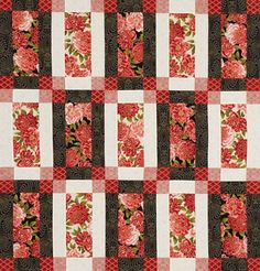 ~ http://www.allpeoplequilt.com/images/slideshow/three-color-quilts/three-colorlg_ss4.jpg