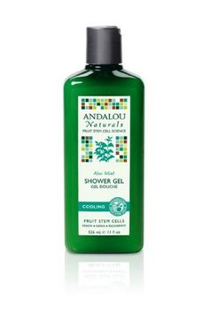 Andalou Naturals Cooling Shower Gel Aloe Mint 11 Ounce ** Click image to review more details.