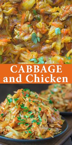 This succulent Cabbage and Chicken is hearty, filling, and so delicious. Just a few ingredients and about 15 minutes of active cooking time make up this amazing dinner. This is my Best Recipe yet! Healthy Dinner Recipes, Low Carb Recipes, Cooking Recipes, Cooking Time, Healthy Cabbage Recipes, Cooked Cabbage Recipes, Cheap Recipes, Cooking Videos, Recipes For Cooked Chicken