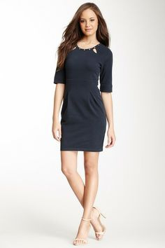 EcoSkin Derby Studded Cutout Dress by Non Specific on @HauteLook