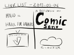Link list – Mar 6, 2013 » by www.rocketink.net