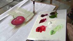 Aprenda técnicas e dicas de pintura em tecido molhado!