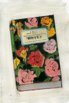 "Yuki Kitazumi, 'Encyclopedia of Roses"" Joan Mitchell, Robert Rauschenberg, Illustrations, Illustration Art, Collage, You Draw, Art Inspo, Painting & Drawing, Print Patterns"