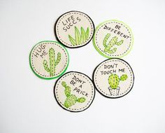 Hey, I found this really awesome Etsy listing at https://www.etsy.com/au/listing/281587016/cactus-patch-or-pin-custom-hand