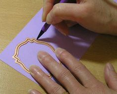 Nestabilities - tip for embossed frames: while cs is still in the die, use embossing tool all around the edge of cs. Makes a nice embossed edge Card Making Tips, Card Making Tutorials, Card Making Techniques, Embossing Techniques, Embossing Tool, Spellbinders Cards, Silhouette Curio, Die Cut Cards, Stampin Up