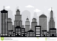 dibujo edificios ciudad - Buscar con Google