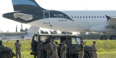 Hijacked Libyan plane lands in Malta with 118 on board: media