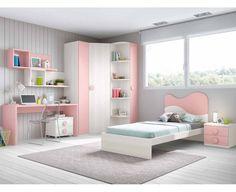 Dormitorio Juvenil Modelo Basic 6