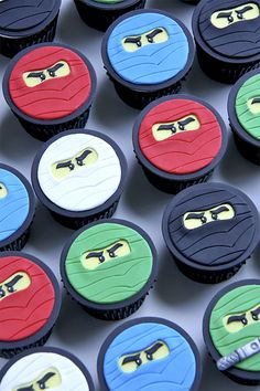 Google Image Result for http://thecupcakeblog.com/wp-content/uploads/2012/06/Ninjago-cupcakes.jpg