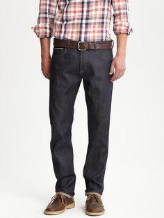 TN Outfit #2: Premium Slim-Fit Indigo Jean | Banana Republic