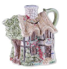 Wild Rose Inn Teapot