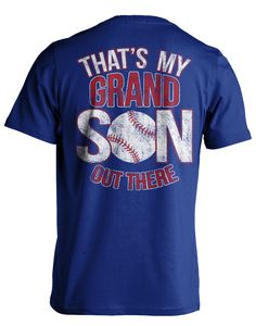 Awesome T-shirts for Baseball Grandparents – TeeCub