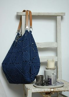 February Crochet-Along: Granny Square Tote