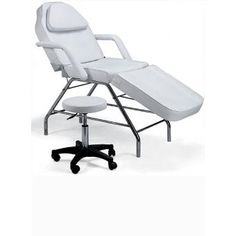 Basic Chair with Stool Spa Facial Tattoo Massage Bed Table