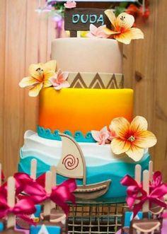 Nice Moana cake