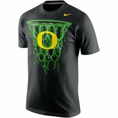 Nike Oregon Ducks Net T-Shirt - Black