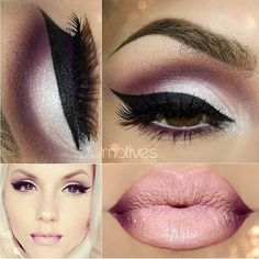 Love the cut crease look