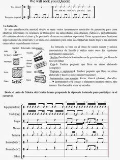 Esta ficha nos servirá como introducción acerca de este ritmo y sus instrumentos.   Además, contamos con un patrón rítmico con el que pode...