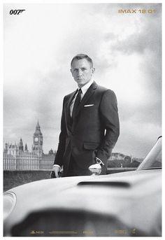 Daniel Craig at Skyfall |  IMAX Poster