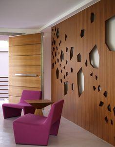 puerta y textura de la pared