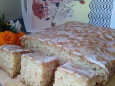 Cytrynowe ciasto z cukinii Vanilla Cake, Bread, Cheese, Brot, Baking, Breads, Buns