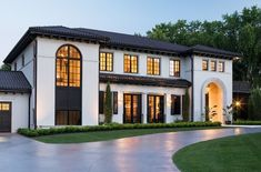 5 Roof Replacement Tips - BetterDecoratingBibleBetterDecoratingBible Dream Home Design, Modern House Design, Modern Mediterranean Homes, Mediterranean House Exterior, Modern Homes, Minnesota Home, Edina Minnesota, Spanish Style Homes, Luxury Homes Dream Houses