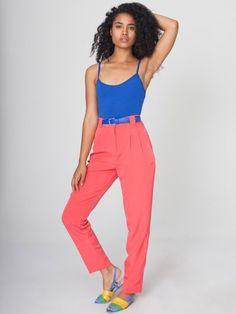 Linen High-Waist Pleated Pant | High waist, Pleated pants and Pants