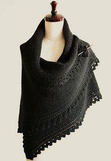 Truly Tasha's shawl (Meaning Tasha Tudor!) Finished Measurements for given gauge: