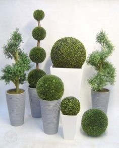 Buchinhos decorativos, topiaria artificial decorat - R$29