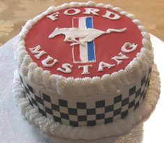 Mustang Cars Cake Shelby Ideas For 2019 Mustang Cake, Ford Mustang, Shelby Mustang, Rehearsal Dinner Cake, Cars Cake Design, Car Cakes For Men, Dad Cake, Sweet 16 Cakes, Cupcakes