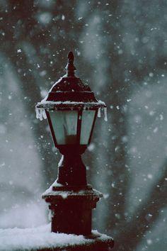Street Lamp in Winter I Love Snow, I Love Winter, Winter Day, Winter Snow, Winter Christmas, Winter Light, Christmas Carol, Winter Schnee, Winter Magic