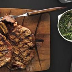 Caper Sauce gives a boost of flavor to your Grilled Steak. Recipe from #RealSimple, found at www.edamam.com.
