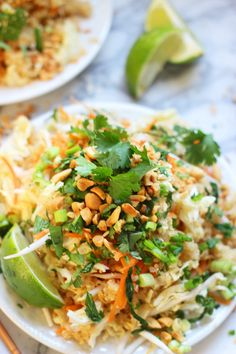 Quinoa Pad Thai - from Cooking for Keeps