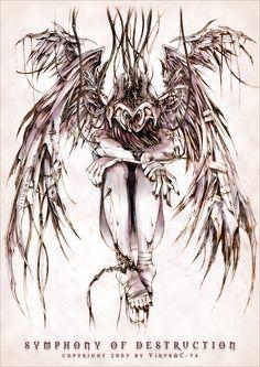 virus dibujo Symphony of Destruction by Virus-AC on deviantART Angel Demon Tattoo, Post Apocalypse, Art Hoe, Anatomy Reference, Destruction, Body Art Tattoos, Cool Pictures, Deviantart, Drawings