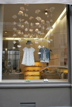 Bonpoint Paris Window Display by Fanciful Designs
