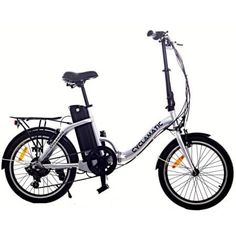 Ideal for cities, boots, boats and caravans - get further on your travels with the Cyclamatic Foldaway Electric Bike Don't let a lack of storage diminish your ebike fun! The brilliant model from Cyclamatic folds in half for easy stora Electric Bike Review, Best Electric Bikes, Folding Electric Bike, Electric Bicycle, Mountain Bike Reviews, Electric Mountain Bike, Mountain Biking, Mountain Bicycle, Powered Bicycle