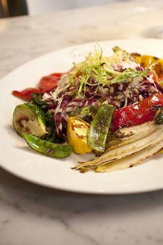 Le Verdure Restaurant @Eataly NYC.  Fresh #Veggies galore!