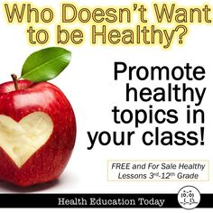 For FREE and for sale Healthy resources!!